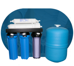 Filtro fuente osmosis inversa blue hogar